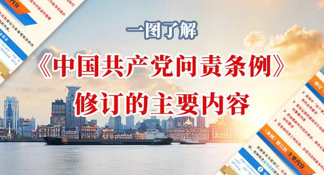 一图了解《中国共产党问责条例》修订的主要内容