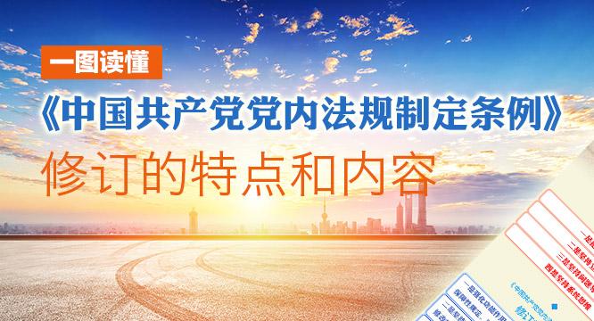 一图读懂 | 《中国共产党党内法规制定条例》修订的特点和内容