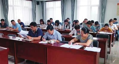 我市认真学习贯彻新修订《中国共产党问责条例》