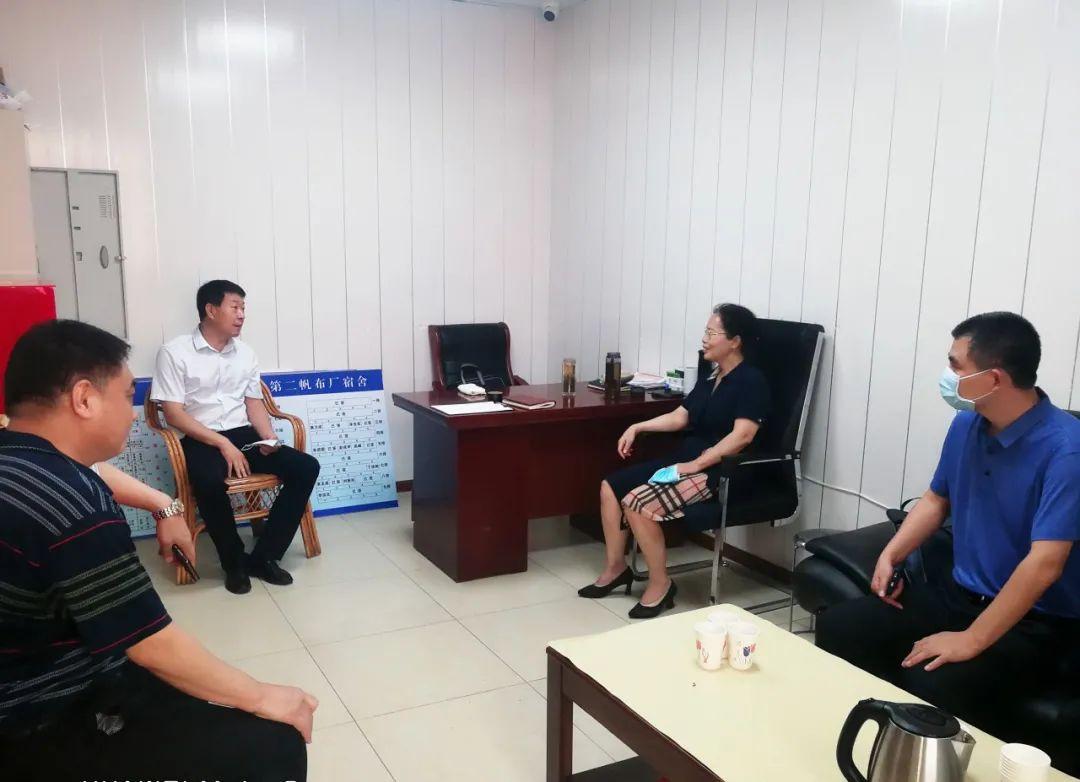 西青区纪委监委主要负责人实地督导国企宿舍区还迁安置工作